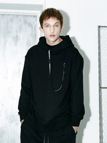 Tape Point Hoody (BK)
