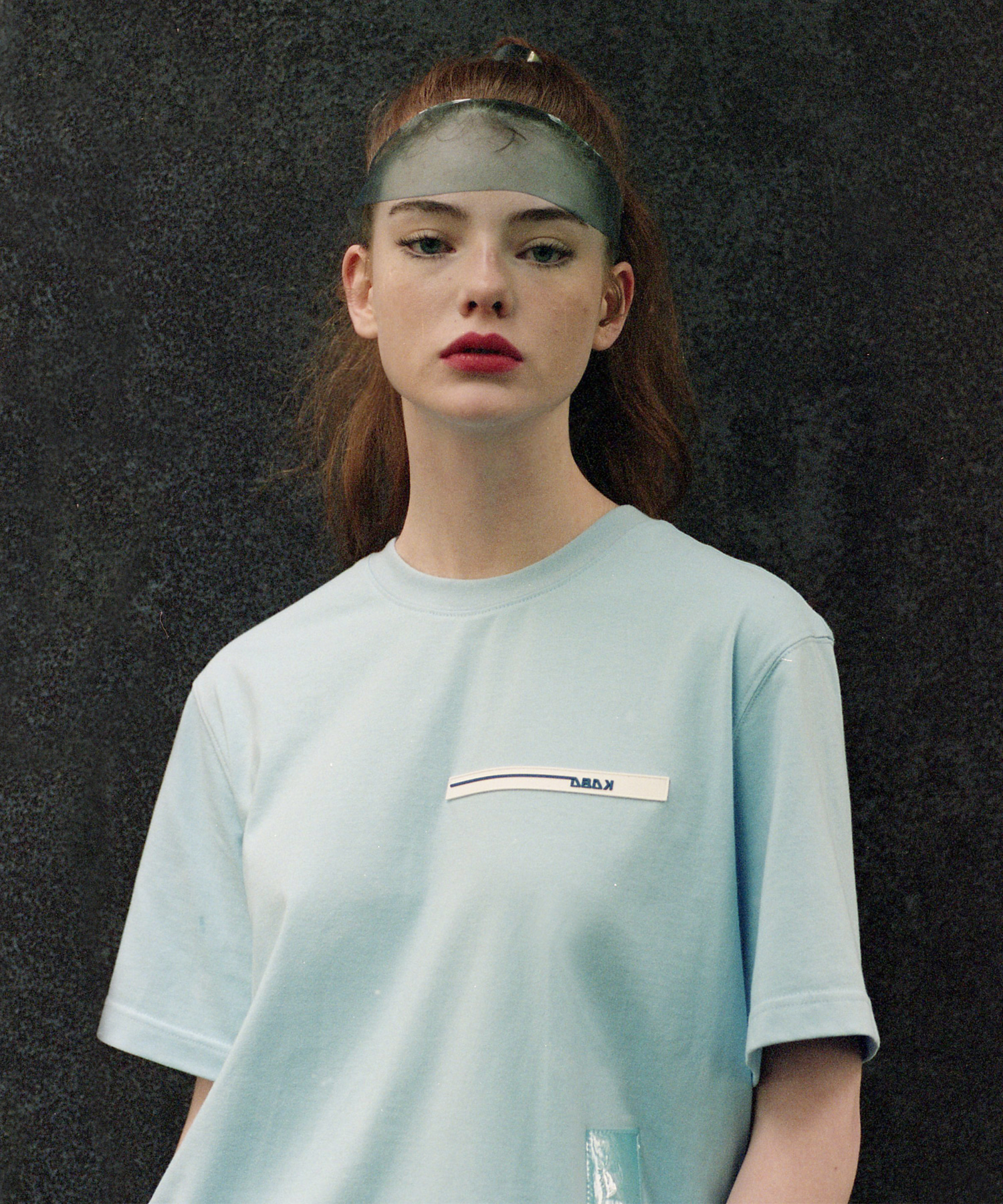 [18SS][시즌오프 50%세일] PVC Length T-Shirts(BL)
