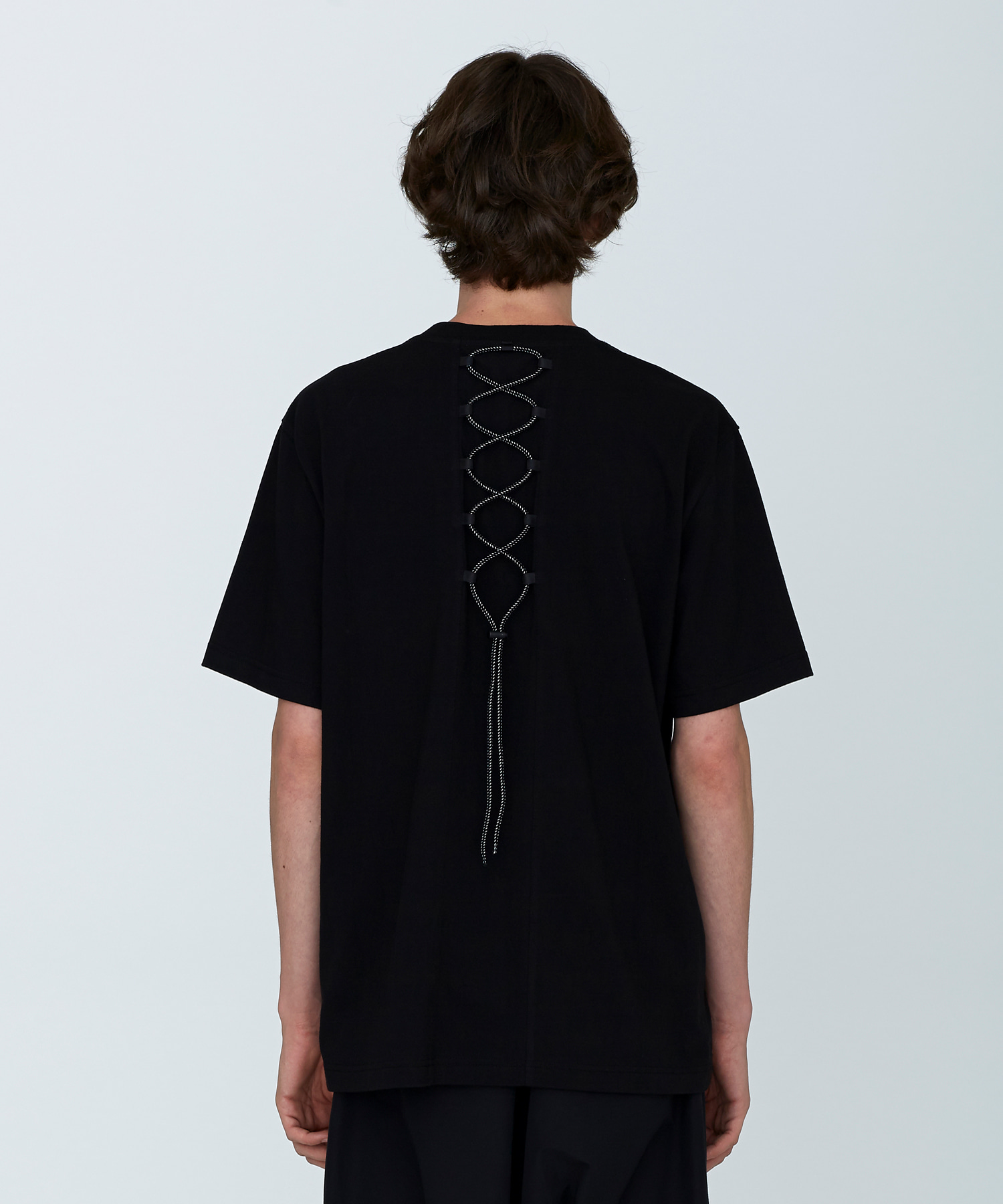 [18SS][시즌오프 50%세일] Back String T-Shirts(BK)