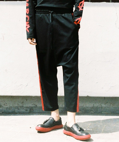 [OULET 80% 세일]Color Line Baggy Pants (RE)