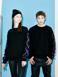 [Season Off 50% 세일]Generative D knit (BK)