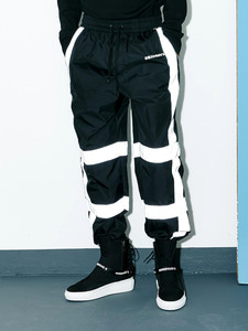 [Season Off 50% 세일]Scotch Banding Wide Pants (BK)