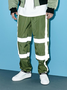 [Season Off 50% 세일]Scotch Banding Wide Pants (KH)