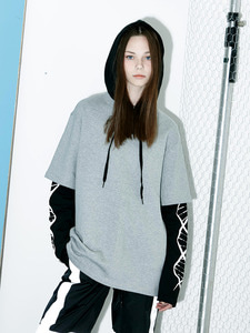 [Season Off 50% 세일]Sleeve Laered DNA Hoody (GE)