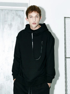 [Season Off 50% 세일]Tape Point Hoody (BK)