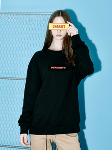 [Season Off 50% 세일]B.C.D Velcro Sweat Shirts (CHARMS)
