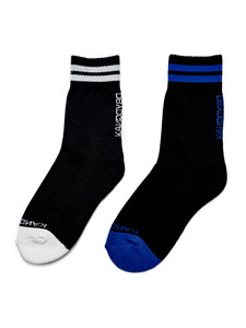 [Season Off 50% 세일]Stripe Logo Socks