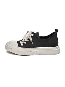 Twist Lace-Up Slip On