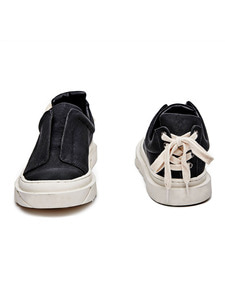 [신학기EVENT 40% 세일]Open Layer Slip-On (BK)
