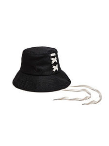 Back Lace-Up Bucket Hat (BK)