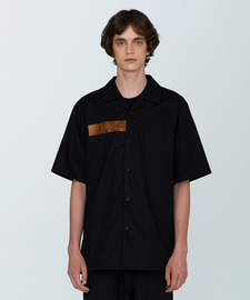 [18SS][70% 세일] PVC Oversize Cotton Shirts(BK)