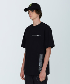 [18SS][70% 세일] PVC Length T-Shirts(BK)