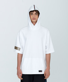 [SUMMER SALE 20%]PVC Oversize Hoody(WH)