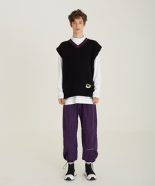 [18FW][50% 세일] Double String Pants(PU)