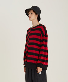 [18FW][시즌오프 30%세일] Unbalance Stripe Sweat Shirts(RE)