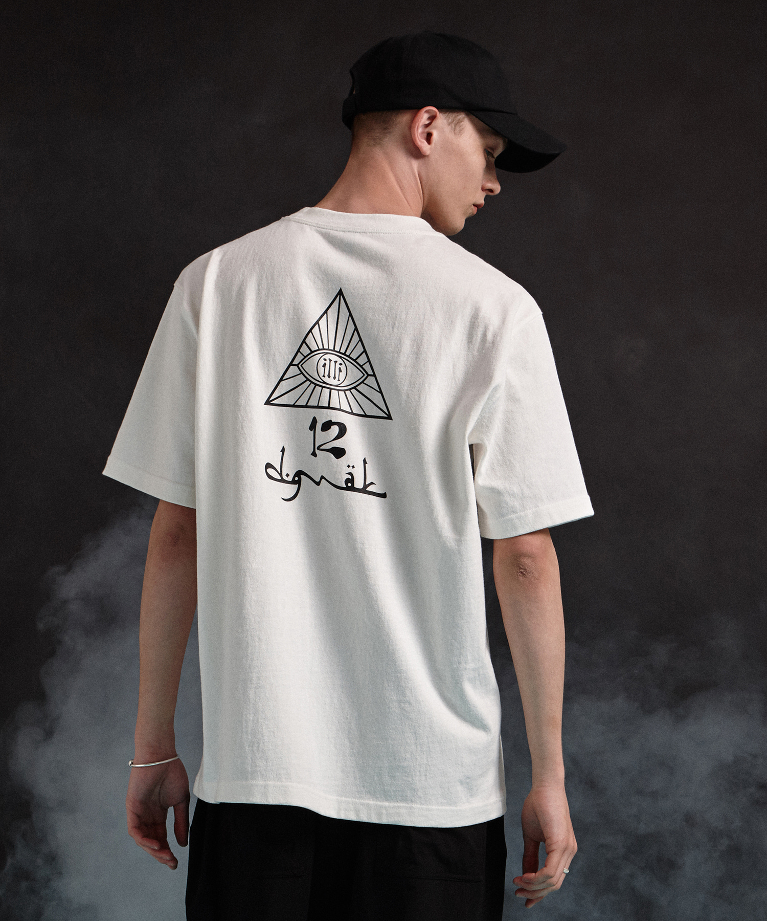 [19SS][50% 세일] illi Triangle Printing T-Shirts (WH)