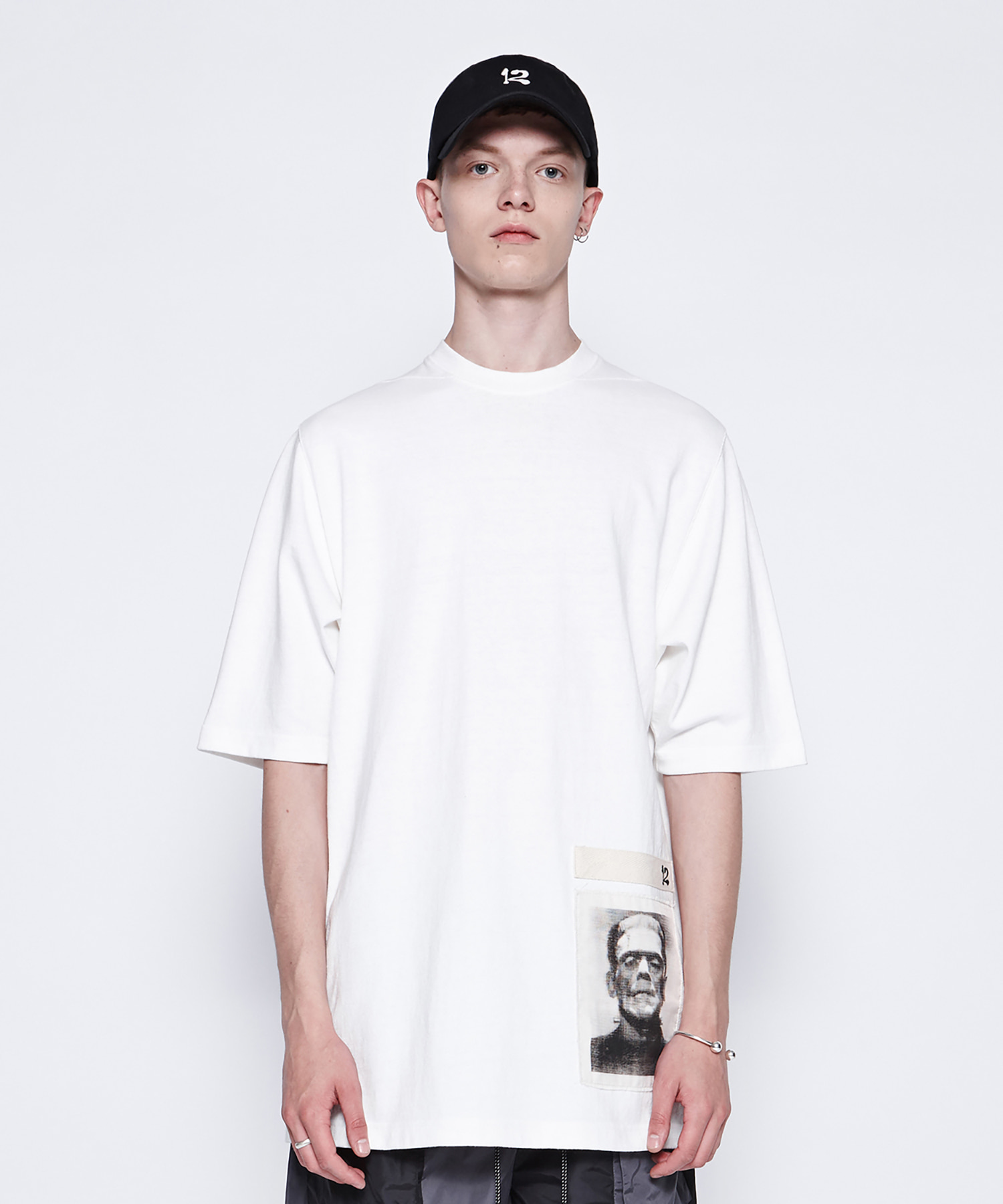 [DGNAK12][30% 세일] Frankenstein Basic T-Shirts (WH)