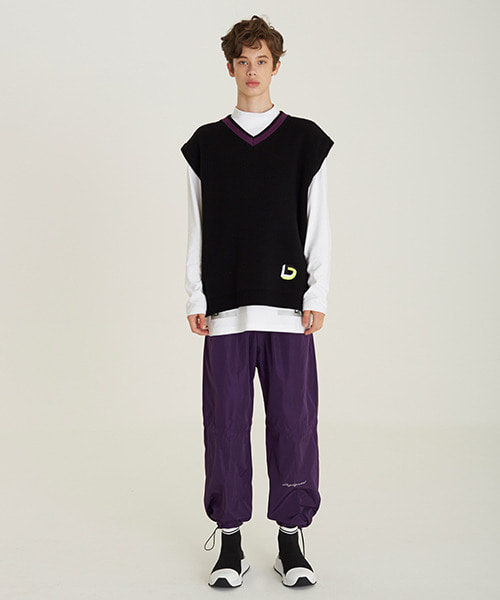 [18FW][60% 세일] Double String Pants(PU)