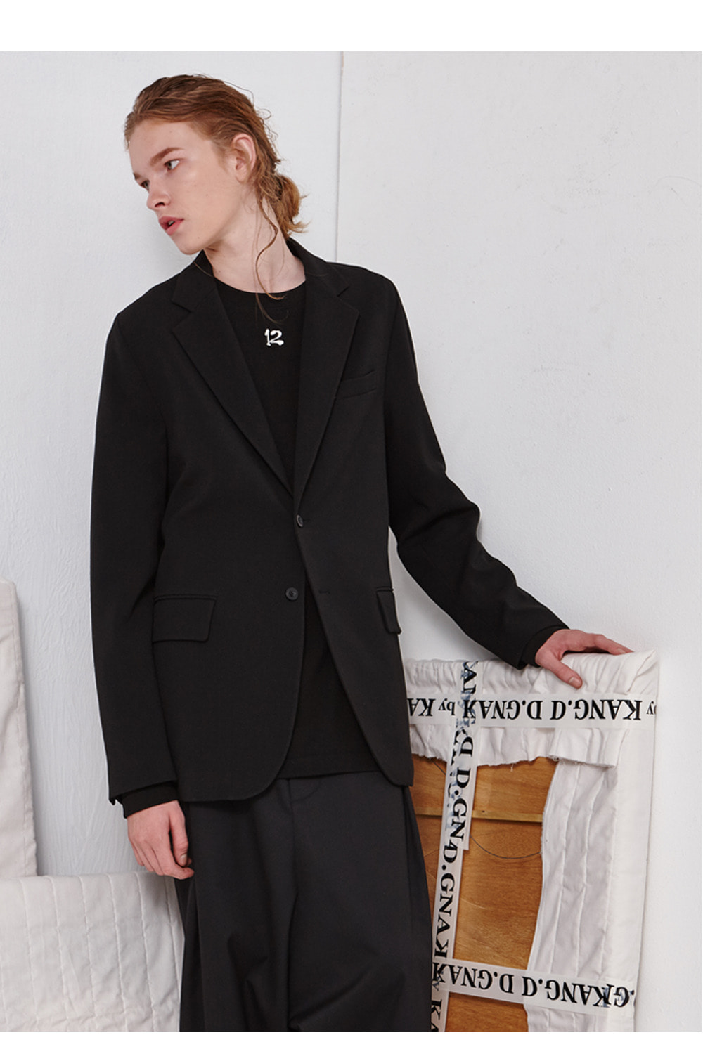 [19FW][60% 세일] Two Button Single Jacket (BK)