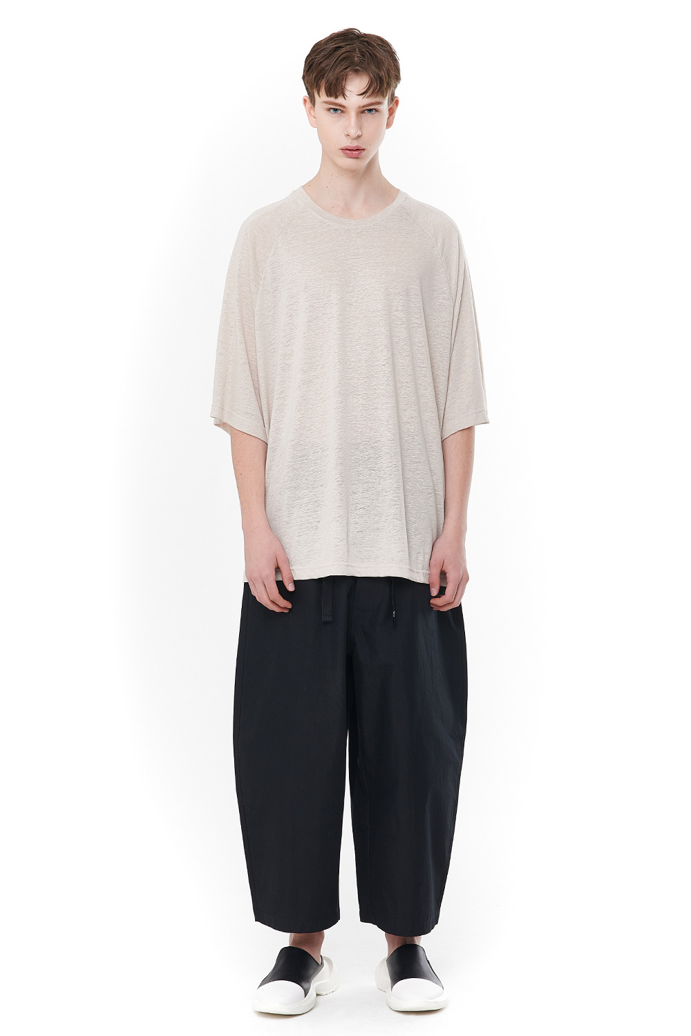 [20SS][40% SALE] Linen Flat lock T-Shirts (BE)_ PA1TS0606