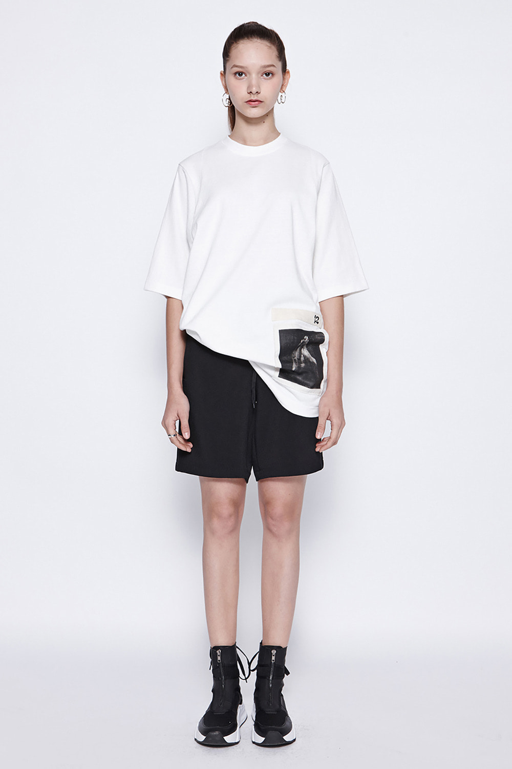 [19SS][70% 세일] Banding String Shorts (BK)