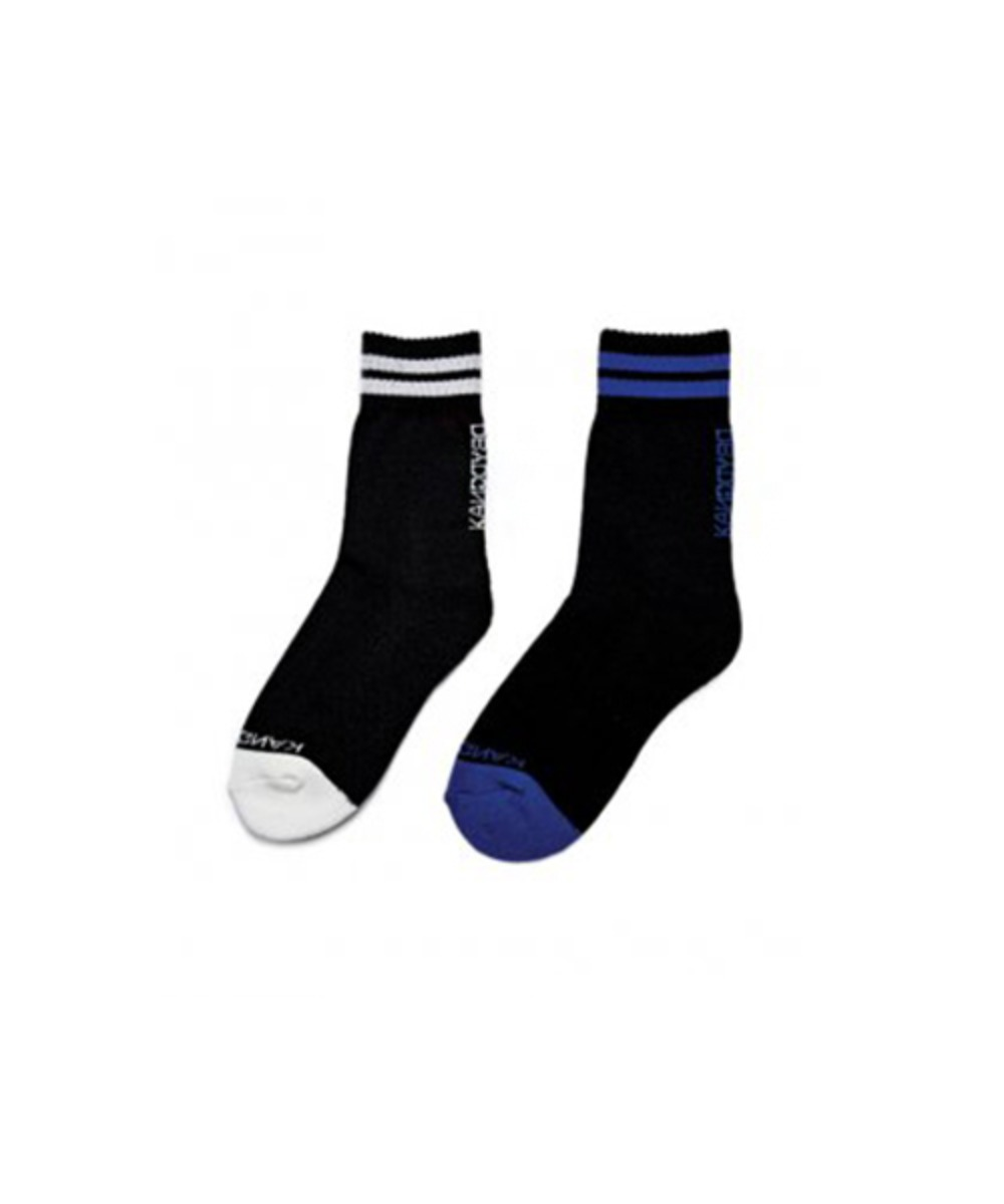 [60% 세일] Stripe Logo Socks (2 color set)