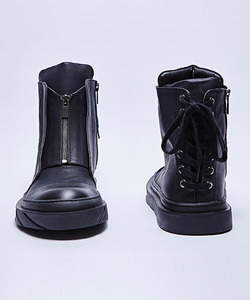 [20%세일] Zipper High Top (BK)