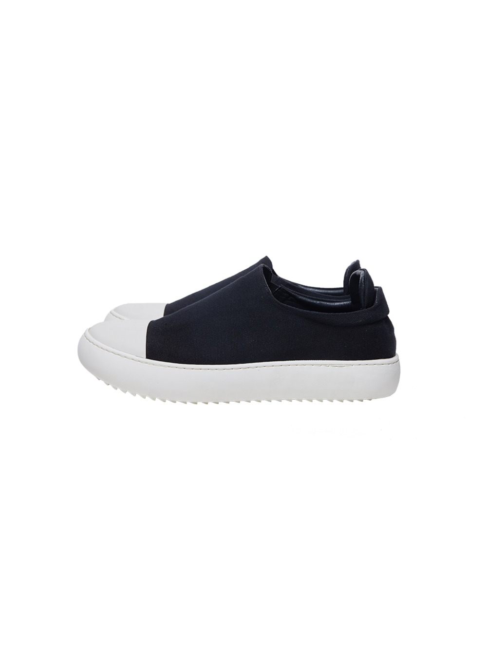 [20FW][30%SALE] Sharksole Canvas Slip-on (BK/IV)_ PA3SU0101